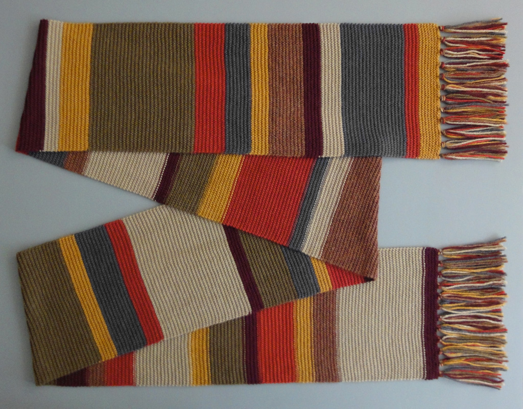 Knitting Pattern Fourth Doctor Scarf : Crochet Doctor Who Scarf Pattern Collection Craft projects _ to be done P...